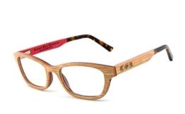 COR - Fassung und Brille aus Holz COR-008