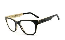 COR - Brillenfassung aus Holz COR-014