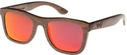 WOOD Wood Fellas - Holz Sonnenbrille JaloUnisex Holz-Sonnenbrille Jalo Mirror brown/red One -