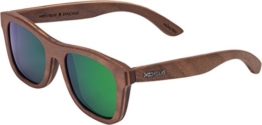 Wood Fellas - Unisex Holzbrille Stachus Walnuss