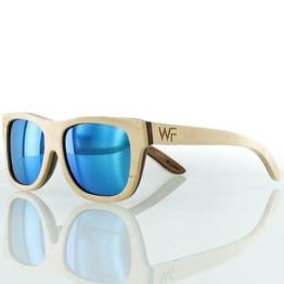 Wood Fellas - Unisex Sonnenbrille aus Holz Tanjung