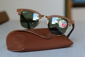 Ray Ban Holz Sonnenbrille