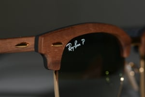 Ray Ban Clubmaster Holz Sonnenbrille